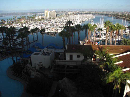 The Sheraton San Diego Hotel & Marina: View from room