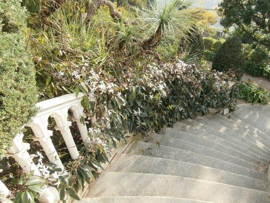 Villa & Jardins Ephrussi de Rothschild : scalinata