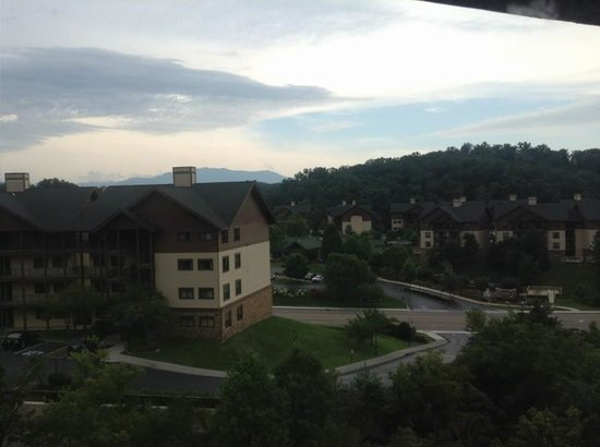Wyndham Smoky Mountains: The view from our room