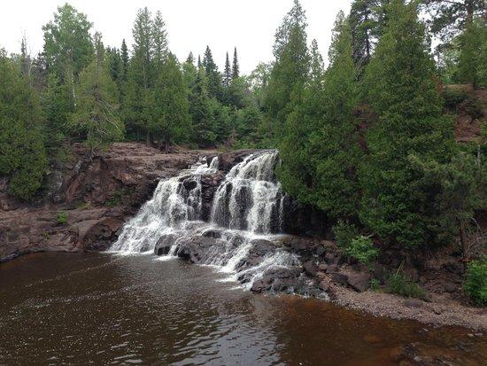 Gooseberry Falls State Park: Upper Gooseberry falls