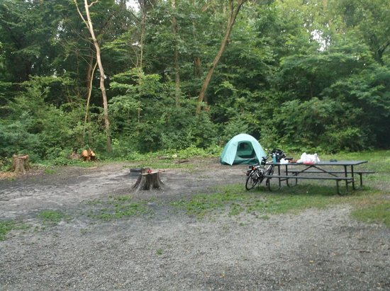 Kettle Moraine State Forest: My campsite
