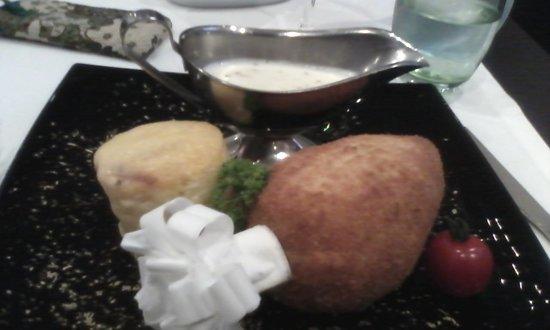 Holiday Inn Kiev : Chicken Kiev in the restaurant :-)