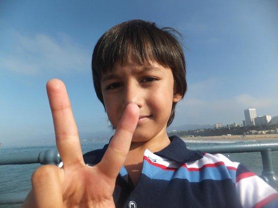 Santa Monica Beach: Shahraiz @ Santa Monica