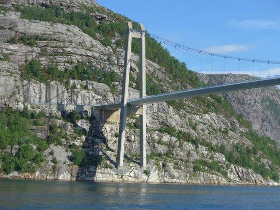 Lysefjord: FV491 Bridge.