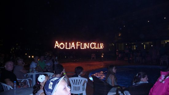 LABRANDA Aqua Fun Club: Best Fire Show Ever!!