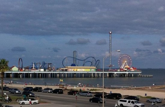 Country Inn & Suites By Carlson, Galveston Beach: view from room