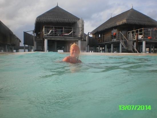 Constance Moofushi: senior water villa