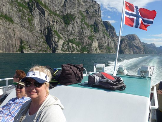 Lysefjord: Just Another Wonderful Day On The Fjord.