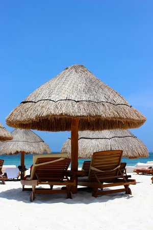 Excellence Riviera Cancun: nice view of the beach