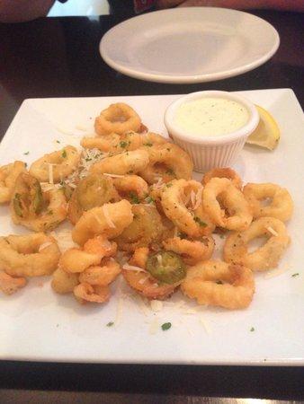 Blue Seafood and Spirits: Calamari