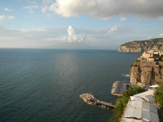 Hotel Parco dei Principi : Mt Vesuvius & Sea
