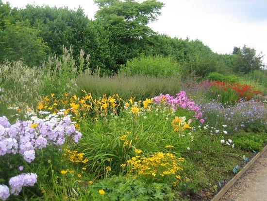 Breezy Knees Gardens: border
