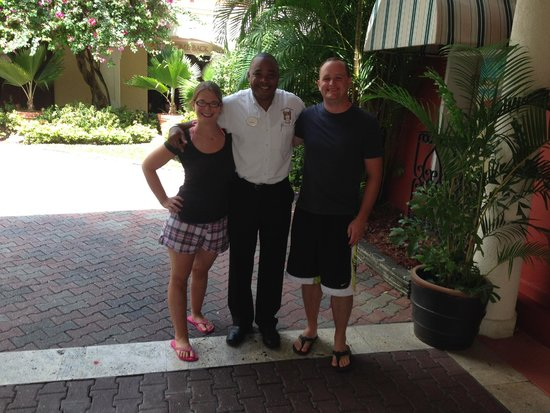 Sandals Regency La Toc Golf Resort and Spa: one of our Butlers, Sydney