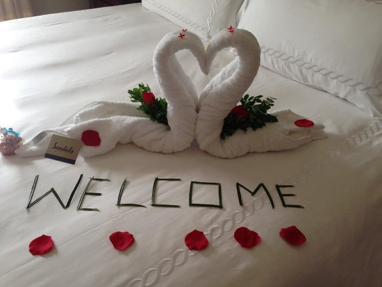 Sandals Regency La Toc Golf Resort and Spa: we're home!