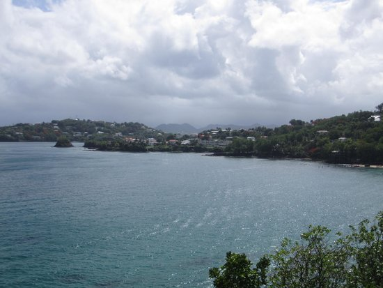 Sandals Regency La Toc Golf Resort and Spa : view from the bluff
