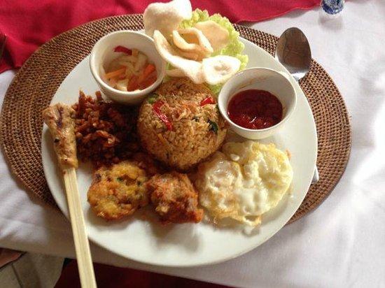 Cafe Wayan & Bakery : Indonesian menu