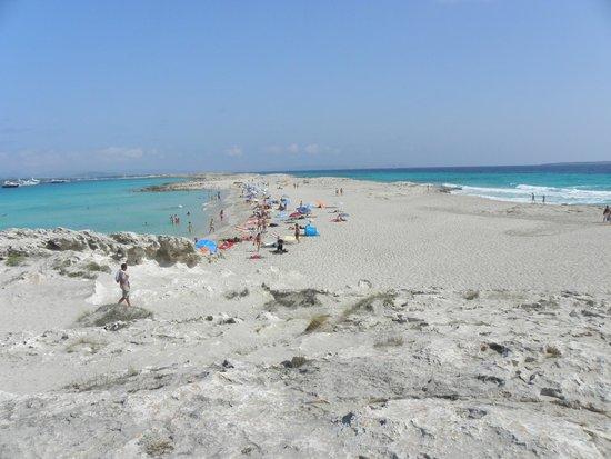 Hotel Club Punta Prima: spiaggia ses illetes