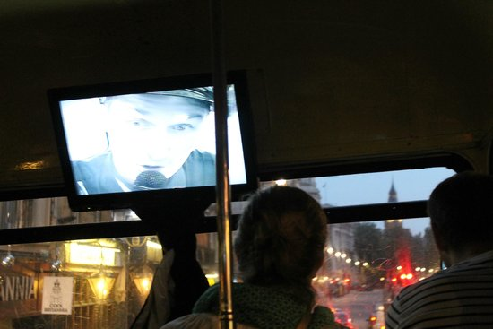 The Ghost Bus Tours - London: Inside