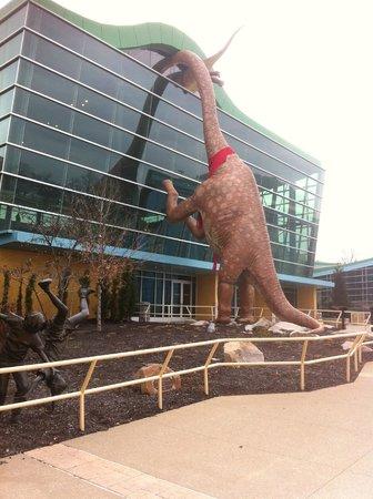 Children's Museum of Indianapolis : Massive dinosaur!