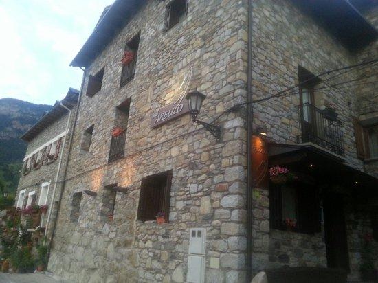 Hotel Areulo: Fachada hotel