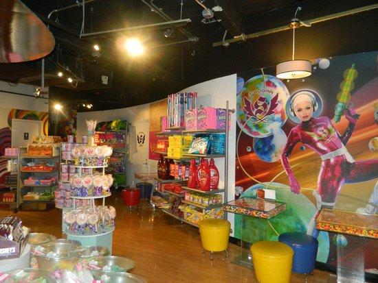 Madame Tussauds New York : Shop inside Madame Tussauds