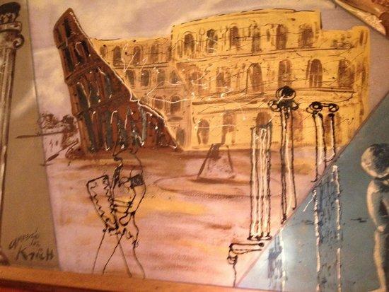 Wall mural Picture of Patsys Inn Italian Restaurant Denver