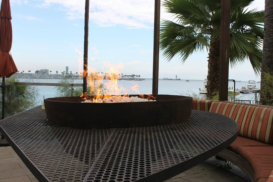 Hotel Maya - a DoubleTree by Hilton Hotel: View from the open air bar