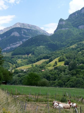 Chantelouve, Francia: Paysage à proximité du Col d'Ornon
