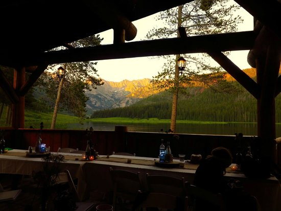 Piney River Ranch: View from inside venue