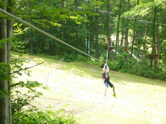 Sky High Aerial Adventure Park: Zipline