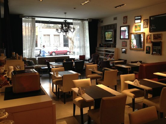 Be Hollywood! Boutique Hotel : Comedor