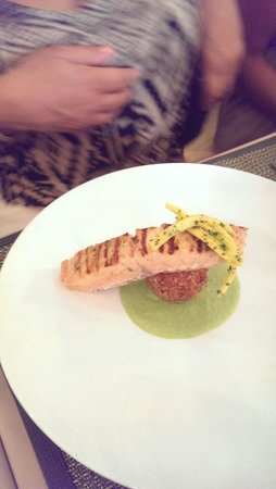 Jaffa at the Oval: Great salmon starter.