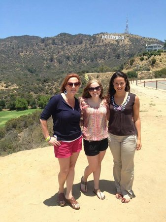 LA Insider Tours: My daughter, me and our awesome guide Lily!