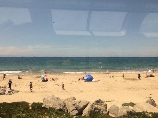 Coast Starlight: View from observation car