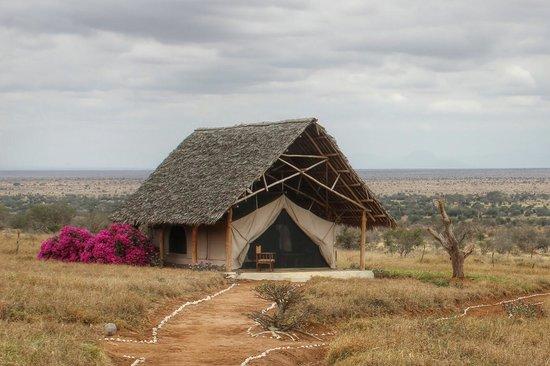 Lualenyi Camp: alloggi