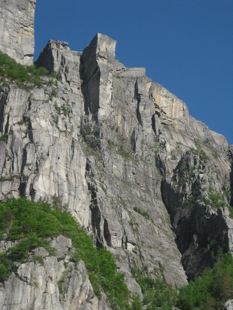 Pulpit Rock: Blue Bird Day.