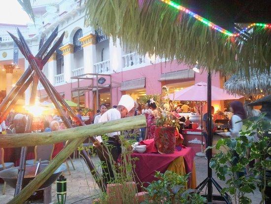 Aseania Resort & Spa Langkawi Island: Dîner buffet