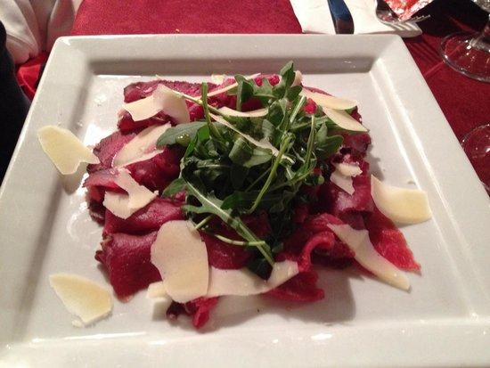 Malga Aloch: Antipasto di carne salada