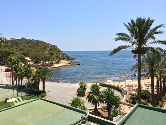 Catalonia Ses Estaques: View from Ses Savinas side room