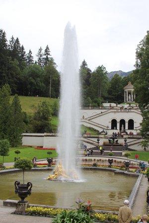 Schloss Linderhof: Fountain
