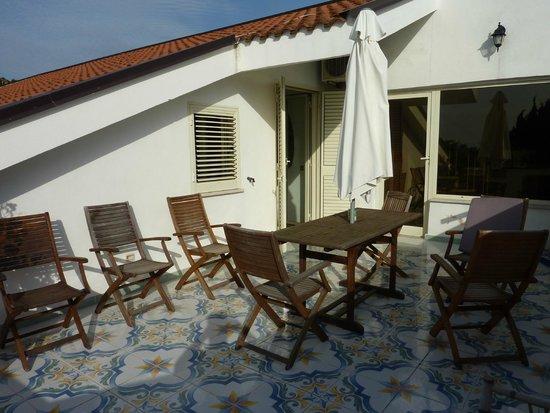 Villa Liberti: Terrace
