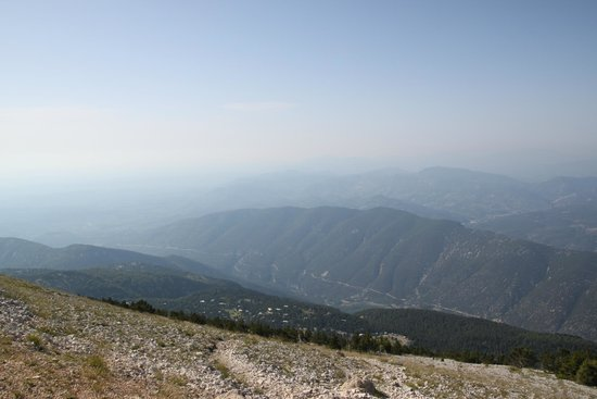 Mont Ventoux : View from the top