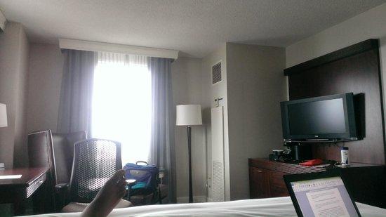 Hilton Philadelphia at Penn's Landing: Room 2011