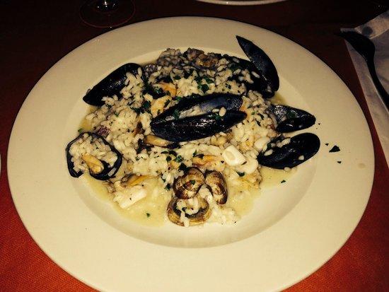 Lo scoglio delle sirene: Это очень вкусное ризотто- рекомендую!!