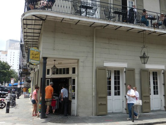 Royal House: Restaurant Exterior