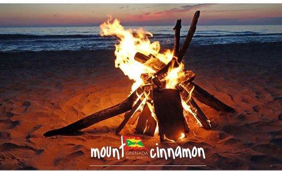 Mount Cinnamon Resort & Beach Club: Bonfire Night at the Beach Cabana