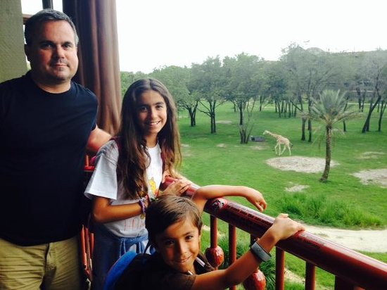 Disney's Animal Kingdom Villas - Kidani Village: Savannah view