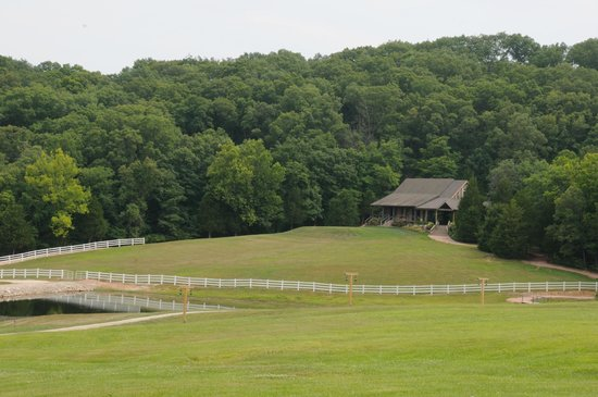 """Chaumette Vineyards & Winery: View of """"Barn"""" reception venue"""