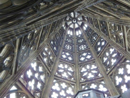Kölner Dom: looking up