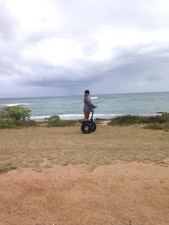 Turtle Bay Resort: We did the Segway tour around the resort which was great!! Totally recommended! Worth the money!